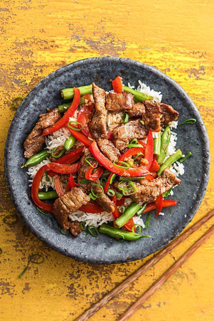 Photo of Asian Beef Pan Recipe Hello Fresh