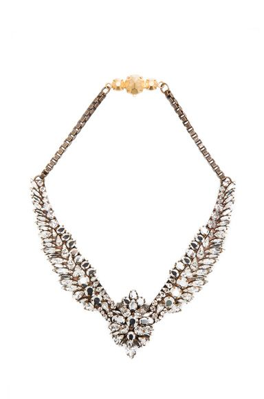 Shourouk Tabatha Necklace In Comet Fwrd Necklace Jewelry Silver Necklace