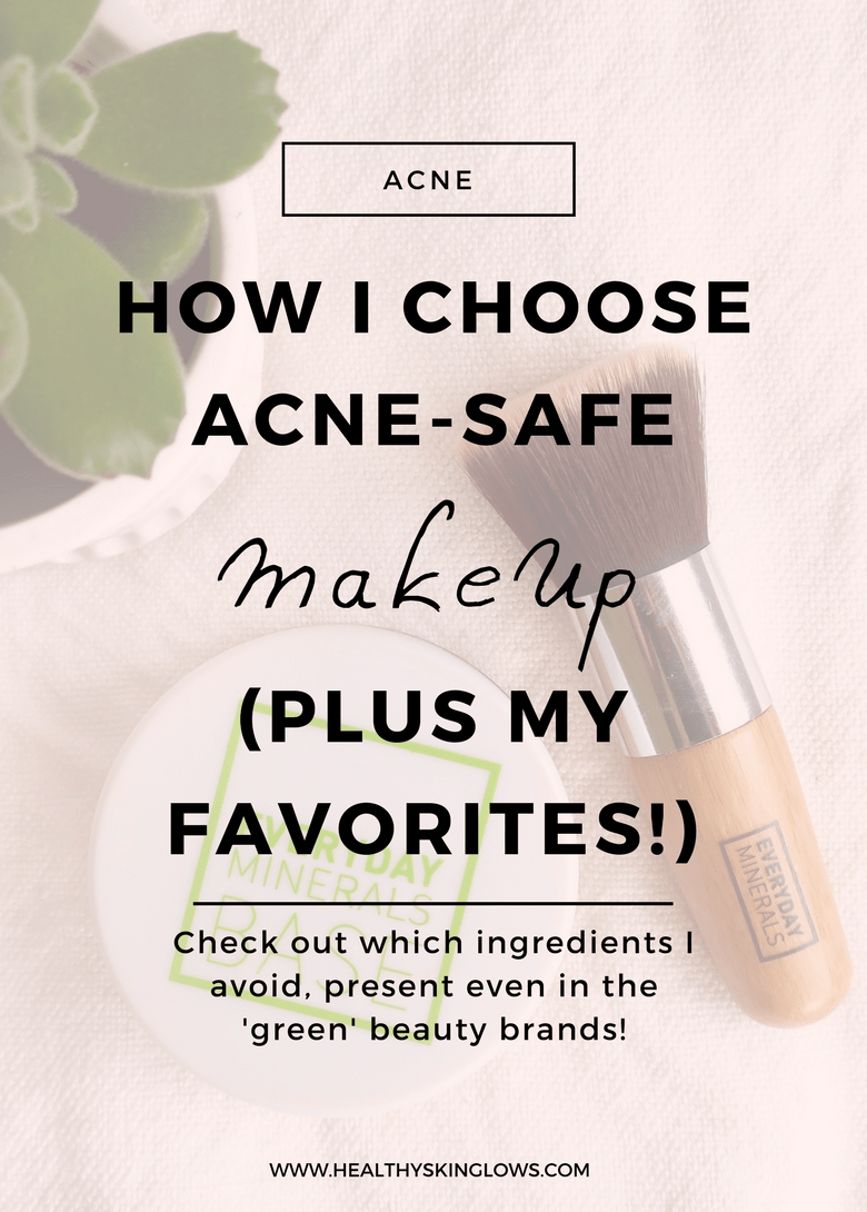 How I choose acnesafe makeup (plus my favorites!) Acne