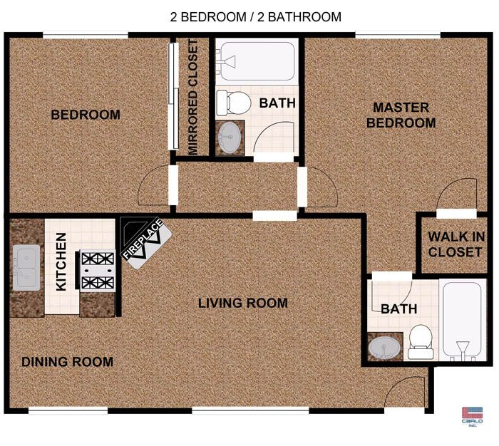 2 Bedroom Apartments Bedroom Apartments In Northridge Ca Floor Plans Girl Bedroom Designs Floor Plans How To Plan