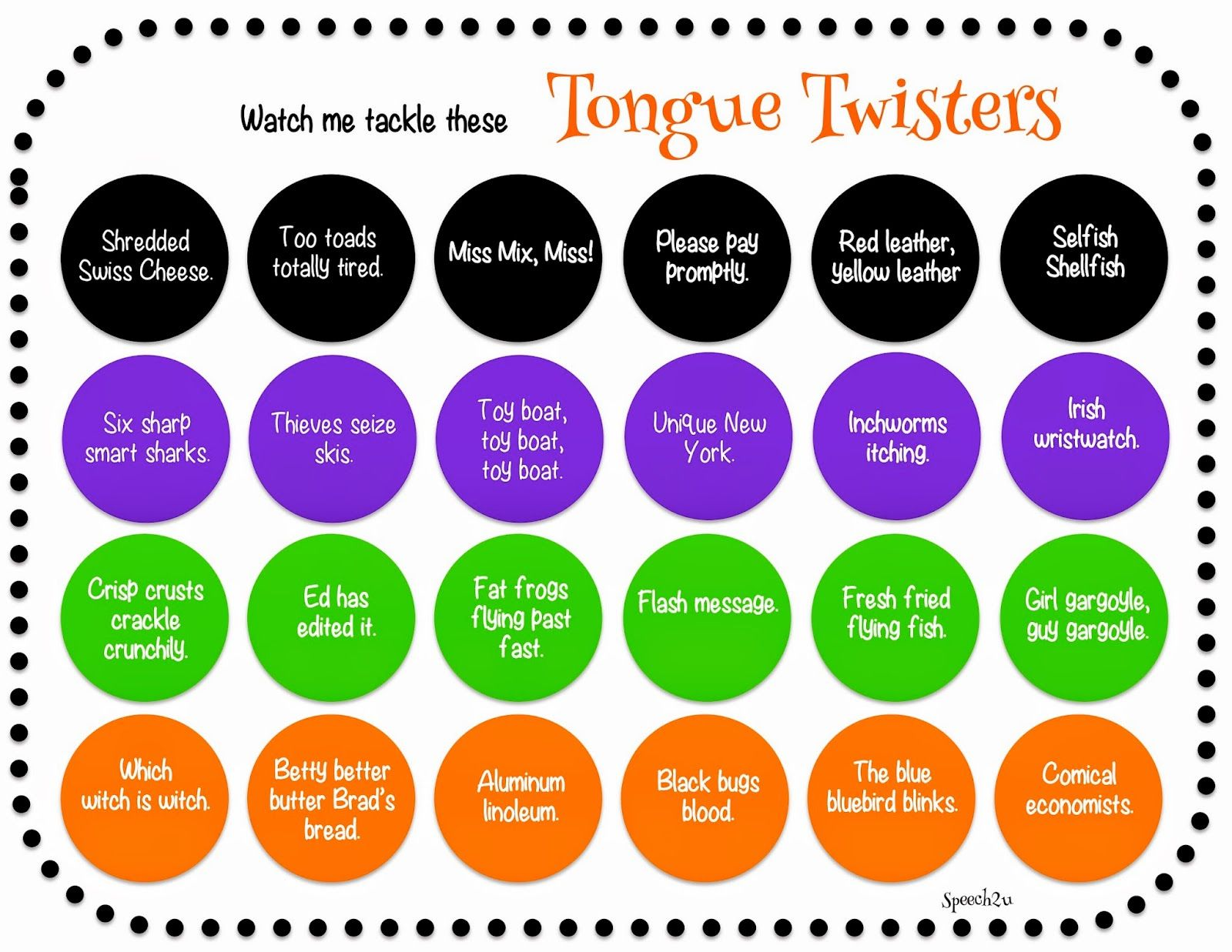 The 25+ best Tongue Twisters For Kids ideas on Pinterest | Toungue ...