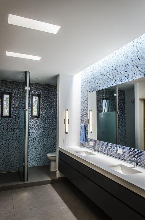Galer a de casa b g adi arquitectura y dise o interior for Arquitectura banos modernos