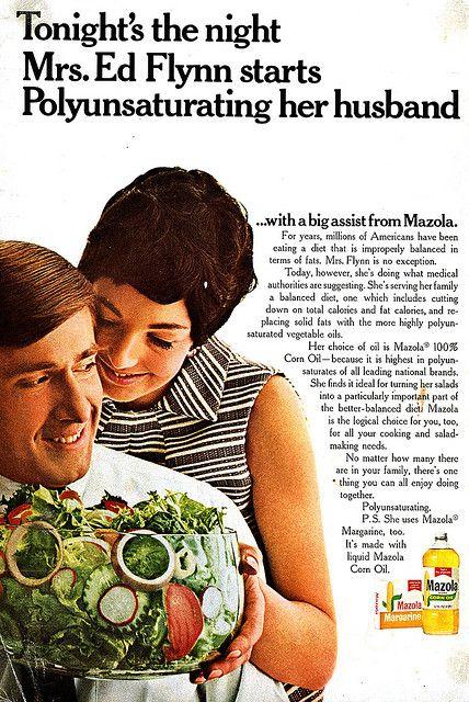 Margarine in Restaurants | 1960s & 1970s | Funny vintage ads
