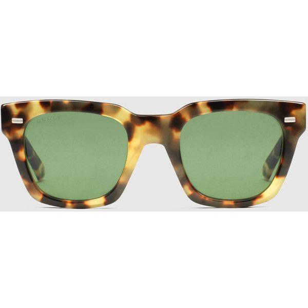 Havana Tortoiseshell Sunglasses Gucci GVvSQ2F