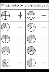 Fracciones - 4 hojas de trabajo | primaria | Pinterest | Hoja ...