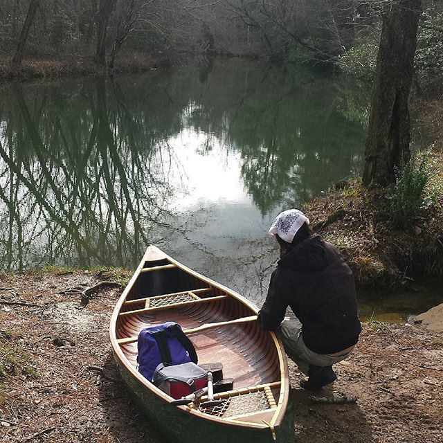 Snippet from my voyage yesterday with a dear friend.  #nature #calmbeforethestorm #canoe  #madeintn #outdoors #twoisbetterthanone #canoetrip #settingoff #daddyscreek #perfectday #lifeisgood #thisdoesntsuck #itsfiveoclocksomewhere