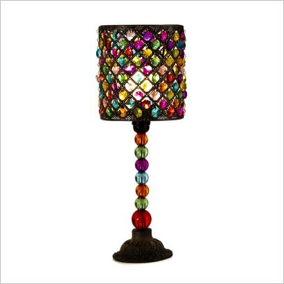 Delightful Beaded Lamp Shades | Beaded Table Lamp With Shade Casa Uno | Wayfair
