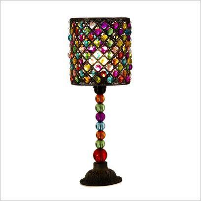 Beaded Lamp Shades | Beaded Table Lamp With Shade Casa Uno | Wayfair