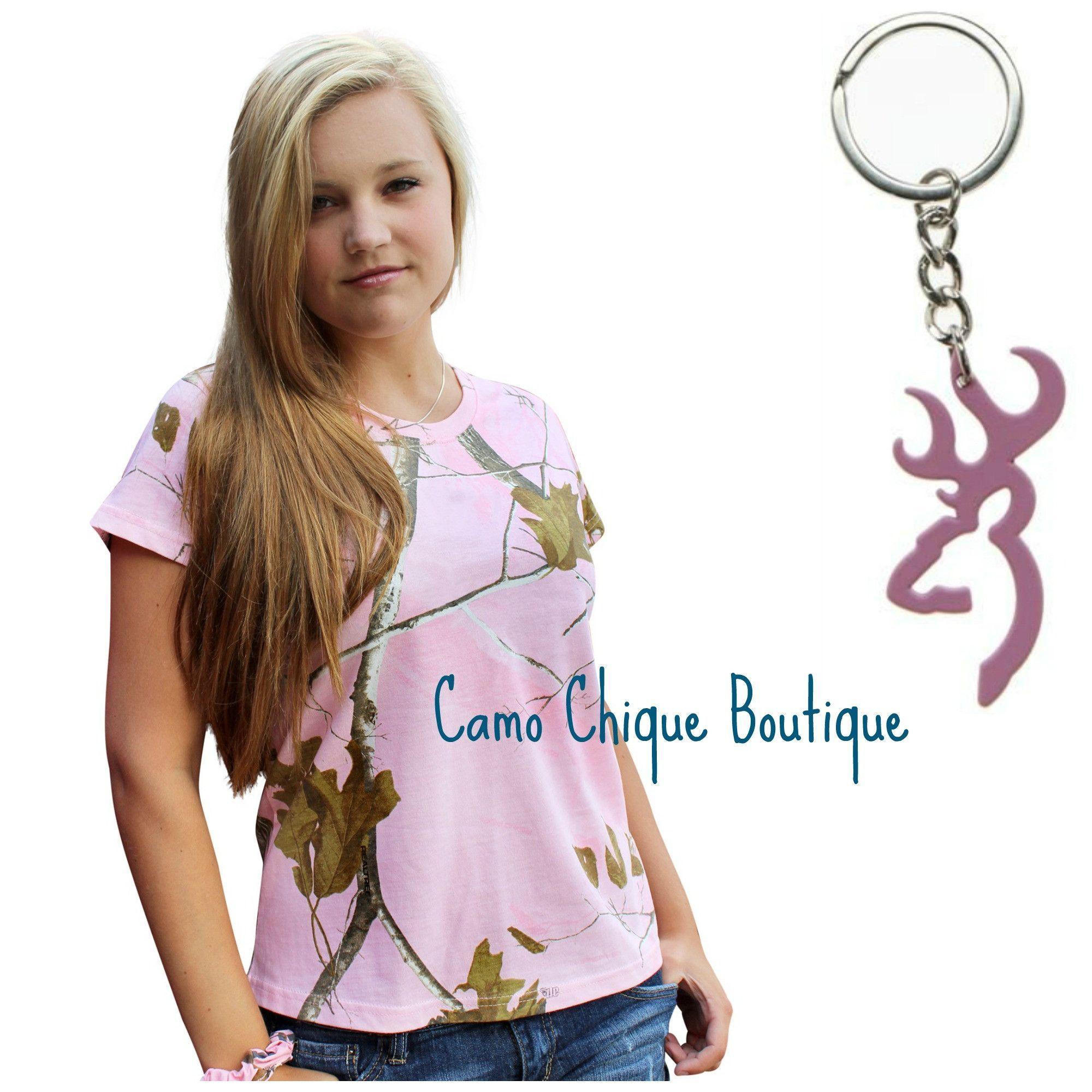 63ae12374 Plus Size Pink Camo Tshirt- Realtree Pink Shirt - 1X 2X 2XL + Bonus Br –  Camo Chique