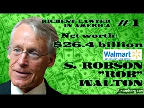 Who are America's 5 richest lawyers. Bloomberg Billionaires Index has the answer.