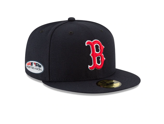 28d5a322910e6 Boston red sox postseason side patch 59fifty fitted in 2019