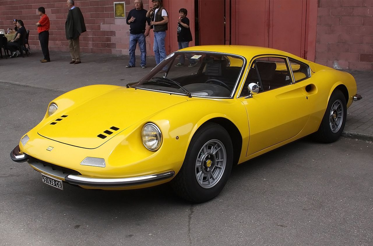 Dino 246 GT (24627987921) - List of Ferrari road cars - Wikipedia ...