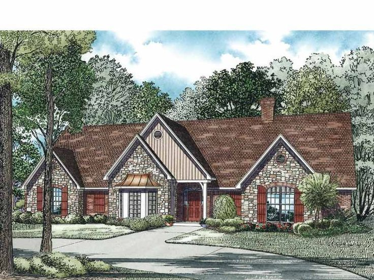 Eplans Traditional House Plan - Traditional Plan - 4303 Square Feet and 5 Bedrooms(s) from Eplans - House Plan Code HWEPL75026 ~ With optimal health often comes clarity of thought. Click now to visit my blog for your free fitness solutions!