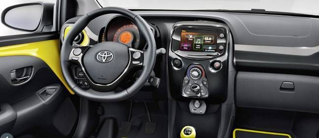 2018 Toyota Aygo interior | Concept Cars Group Pins | Pinterest ...