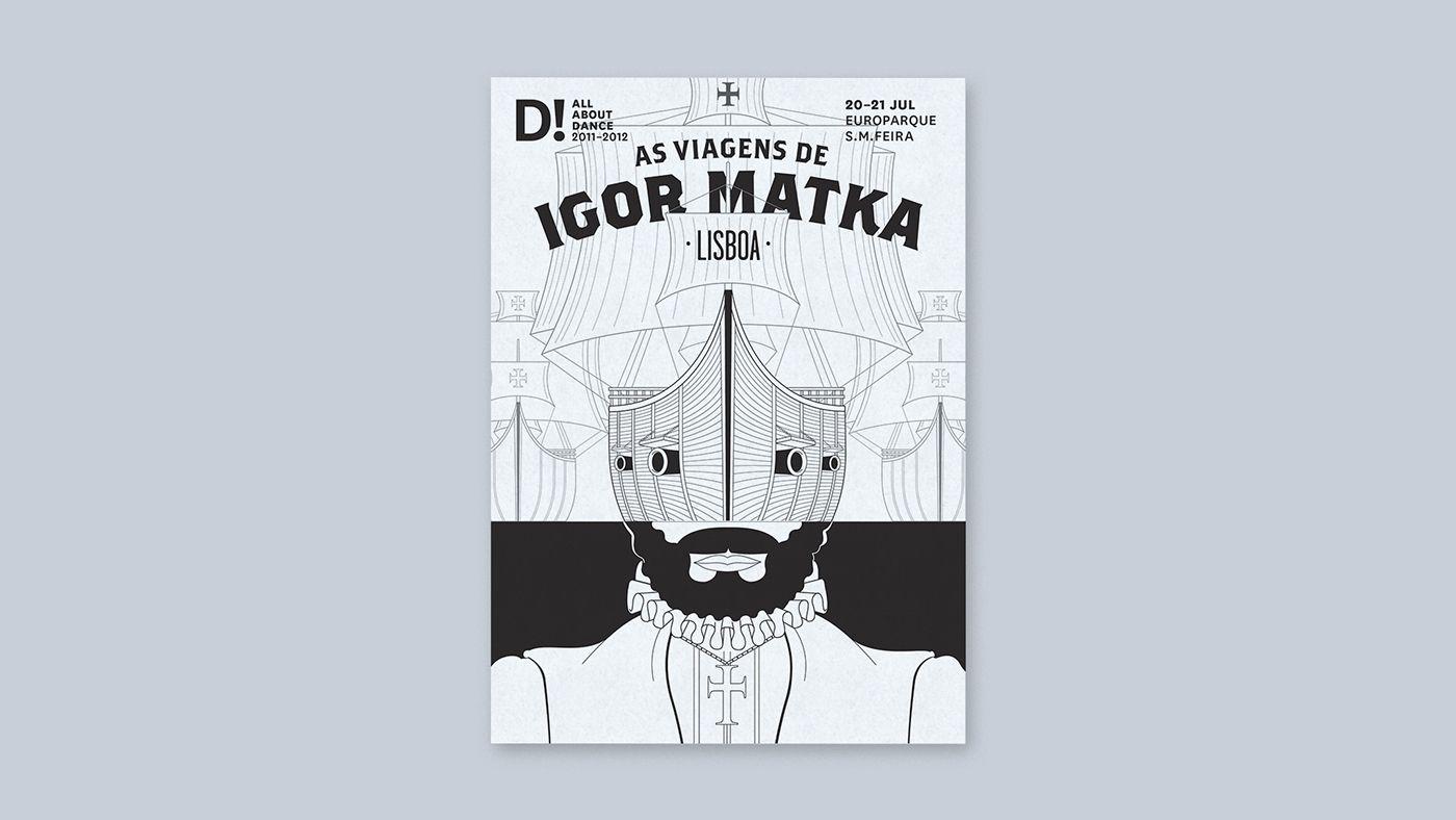 As Viagens de Igor Matka on Behance