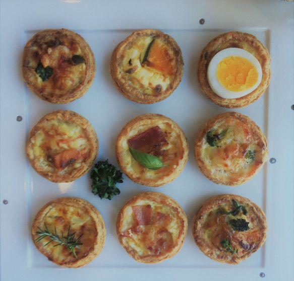 フィンガーフード キッシュ9種アソート|焼き菓子|Amara|ハンドメイド通販・販売のCreema