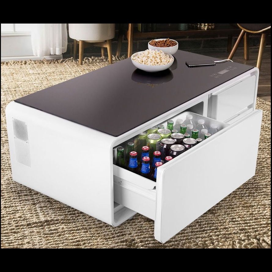 Coffee Table Drink Cooler Mini fridge, Beverage cooler