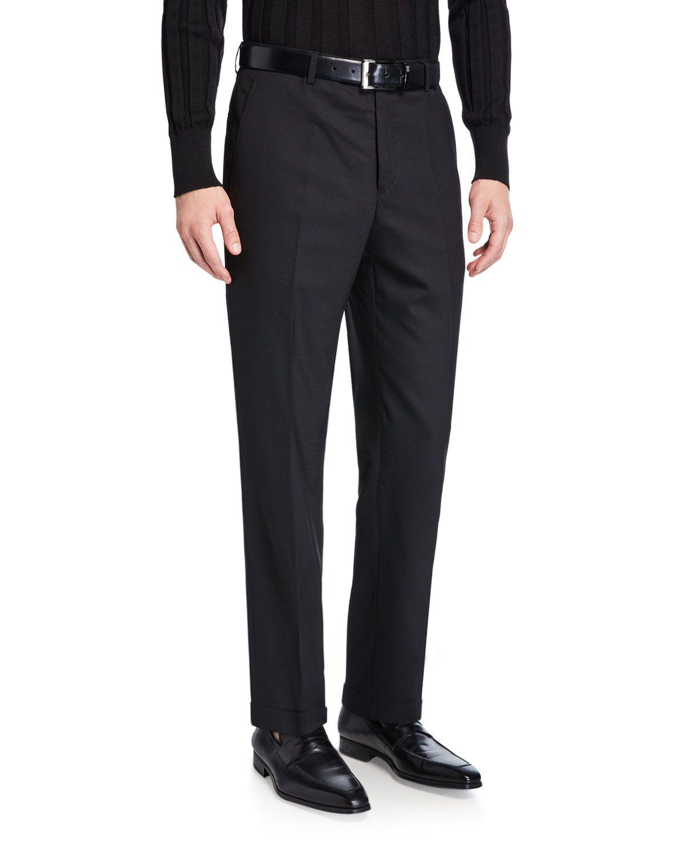 Santorelli Men S Straight Leg Twill Dress Pants Santorelli Cloth Dress Pants Pants Clothes [ 1500 x 1200 Pixel ]