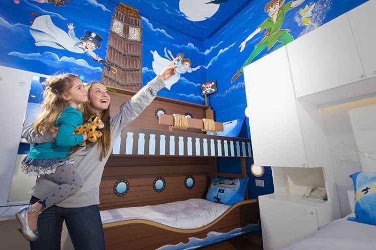 Camerette disney ~ Peter pan room google search disney themed rooms