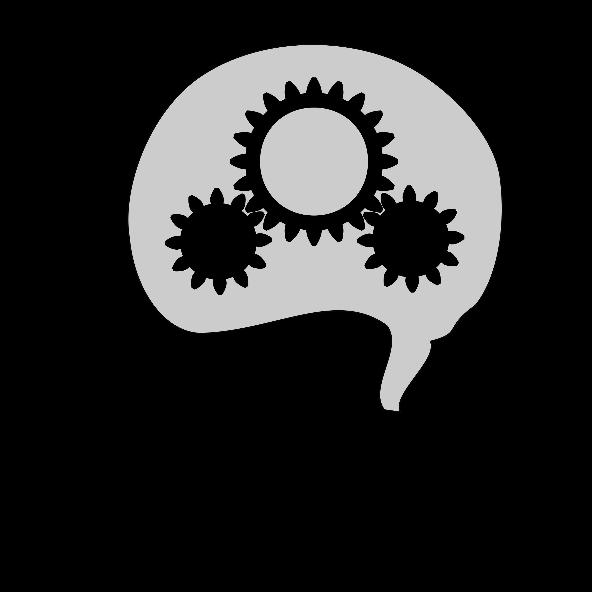 Thinking v2 animation by aukipa, Animation of turning