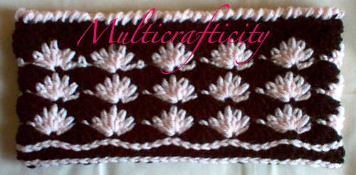 Ravelry: Floral Neckwarmer pattern by Sherry L. Farley.....free ravelry download