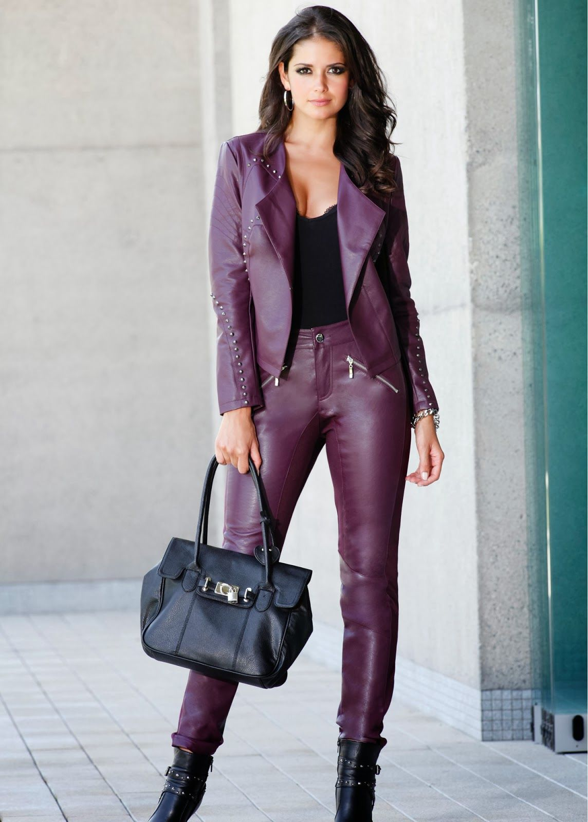 Leather clothing for women Carla Ossa | Leather Trousers / Leggins III | Pinterest | Leather ...