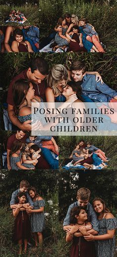 Family Posing Tips Guide For 5 With Older Children Ideas Photographer