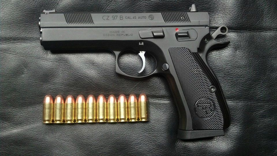 CZ 97 B 45 acp  | Firearms | Guns, Hand guns, Weapons