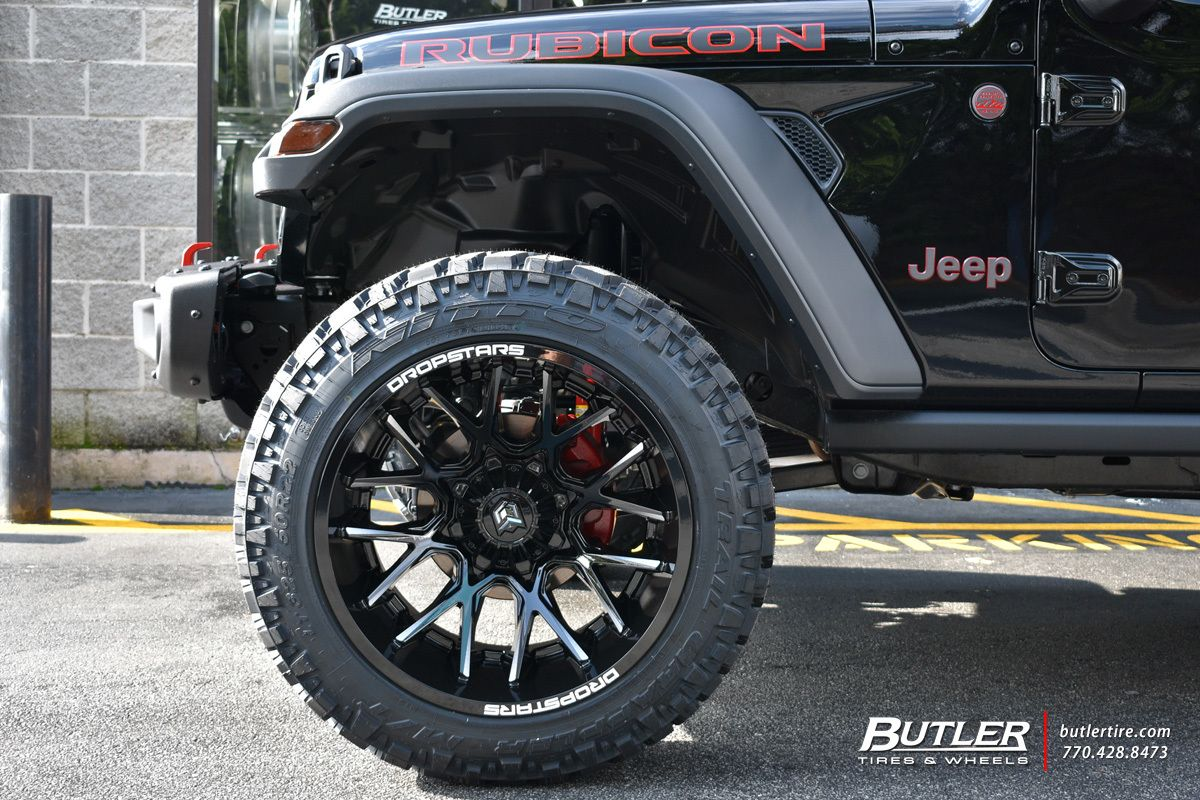 Jeep Wrangler With 22in Dropstar 654 Wheels Exclusively From