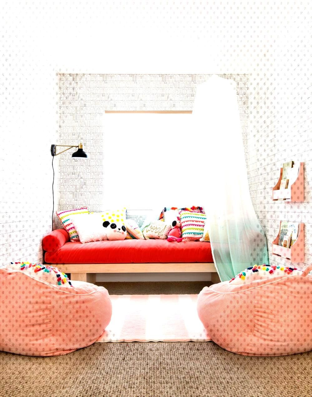 Playroom Makeover with PillowFort + Shop The Collection - Emily Henderson - Sugar and Spice - Playr