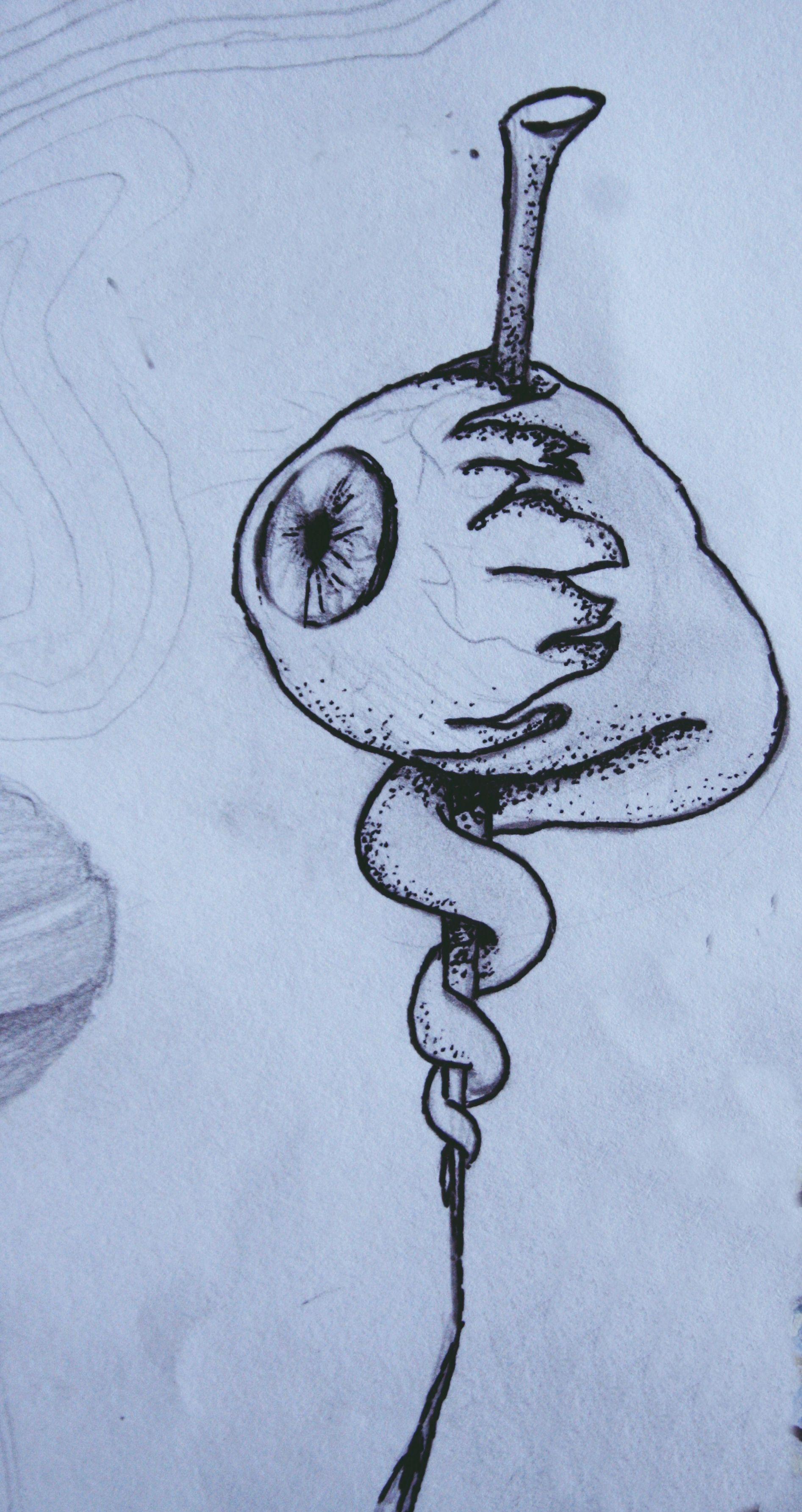 obsession sketch drawing artist anastasiz vinney dark goth witch ...