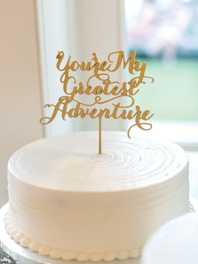 Simple Wedding Cakes That Prove Less Is More | Pinterest | Sugar ...
