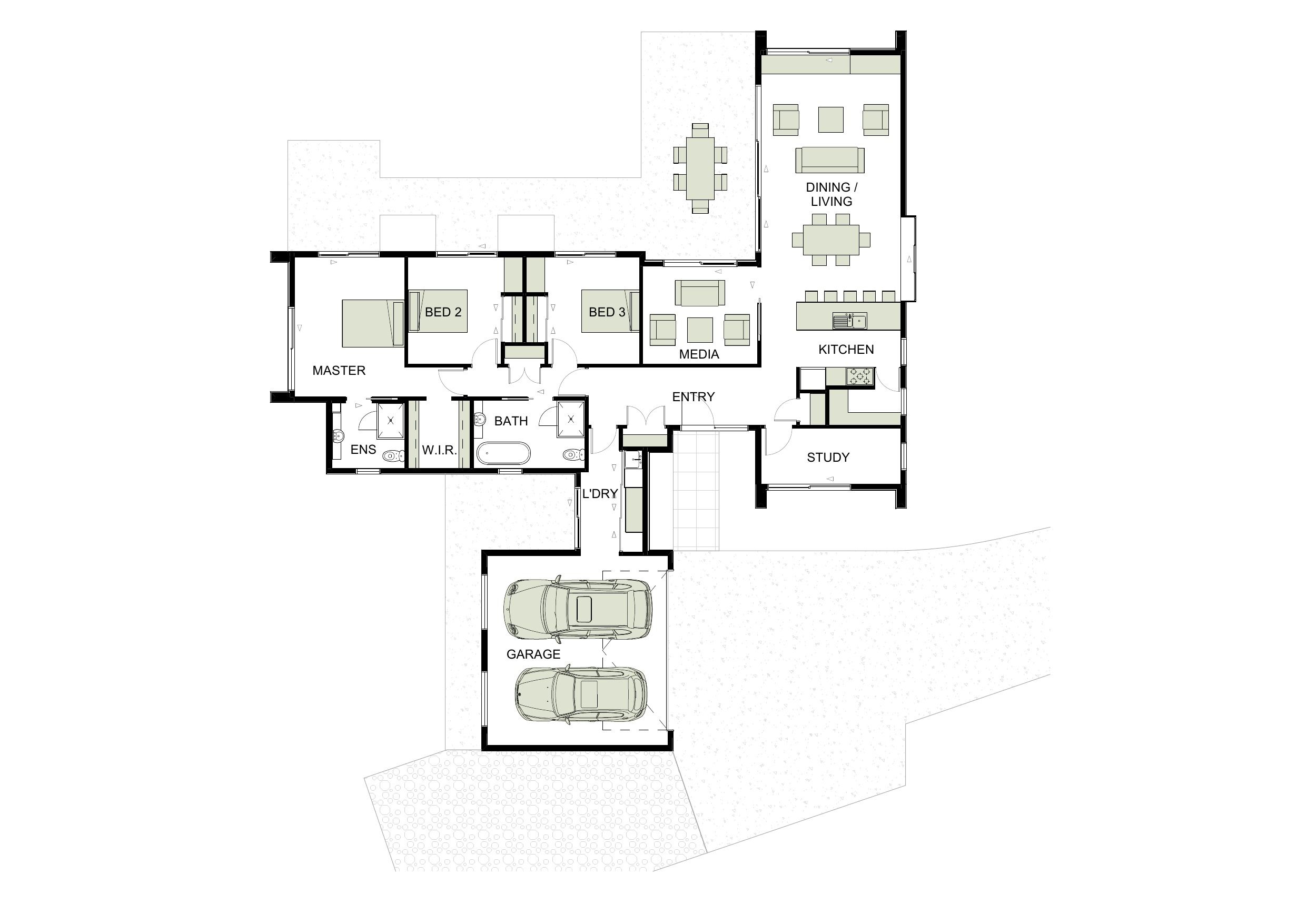 25 X 60 How To Plan Floor Plans House Plans