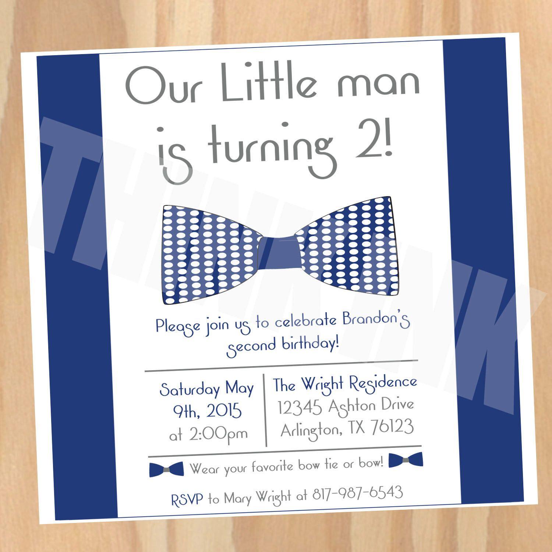 Little Boys bow tie party Love the idea