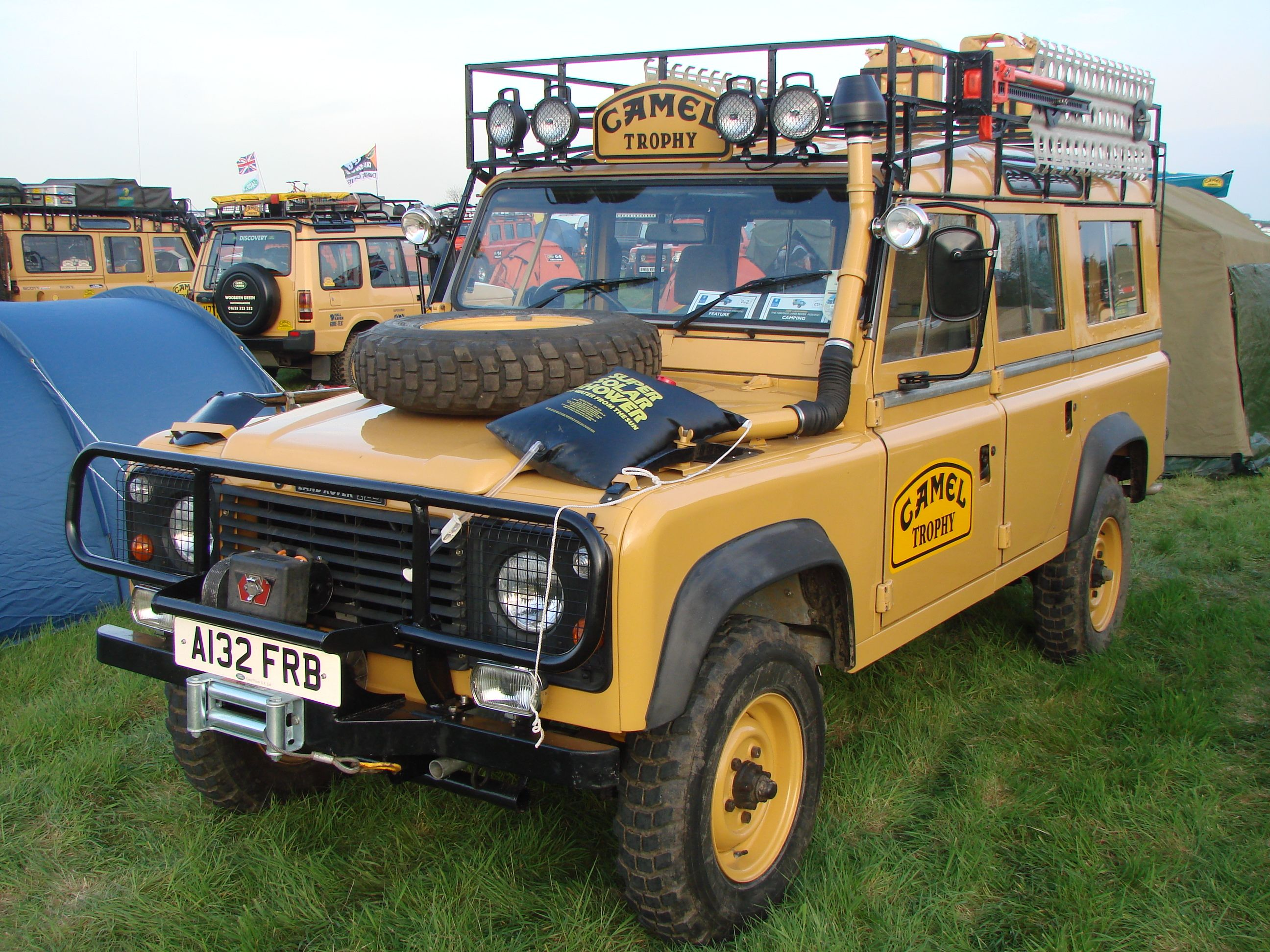 84 Land Rover 110 Station Wagon