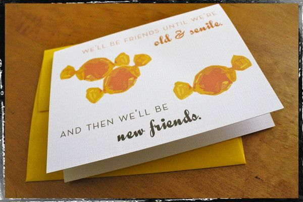 #unique #thankyou #friends #cards #stationery #gifts #humor #fun #funny #humorous $4