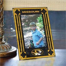 NCAA Missouri Art Glass Horizontal Frame