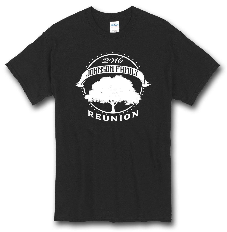 customized family reunion shirt tree design use your nameyear - Family Reunion Shirt Design Ideas