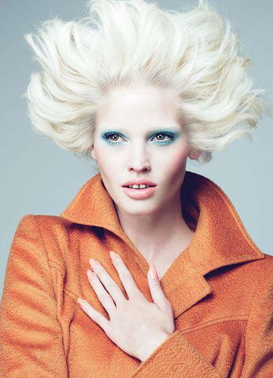 Acid Blonde Lara Stone: Fashion: Wmagazine.com