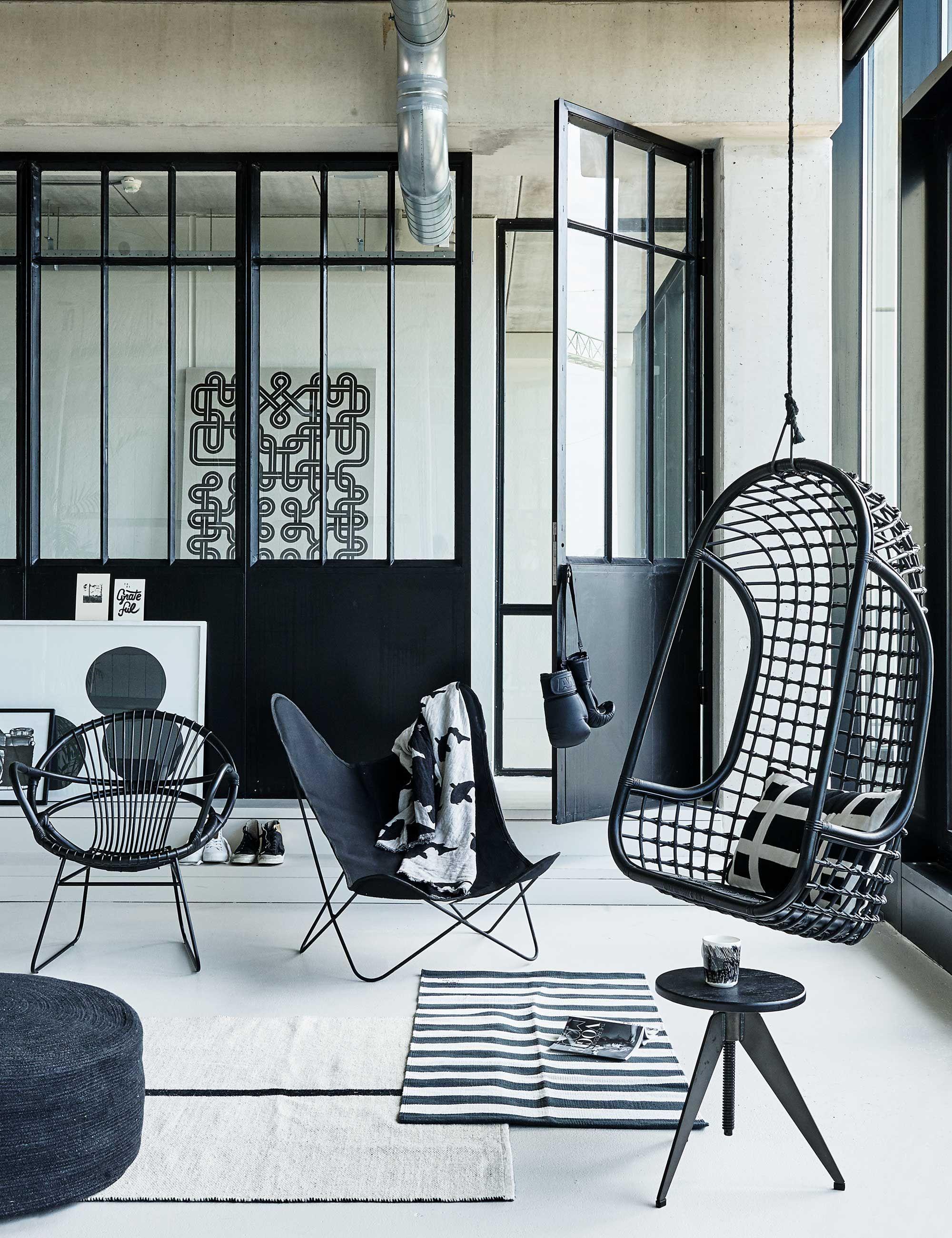 zwart-wit-woonkamer - STHY - Zwart, wit en grijs???? | Pinterest ...