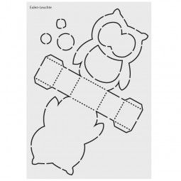 Design Schablonen Grusskartengestaltung Bastelbedarf Laterne Basteln Vorlagen Eulen Basteln Vorlage Laternen Basteln