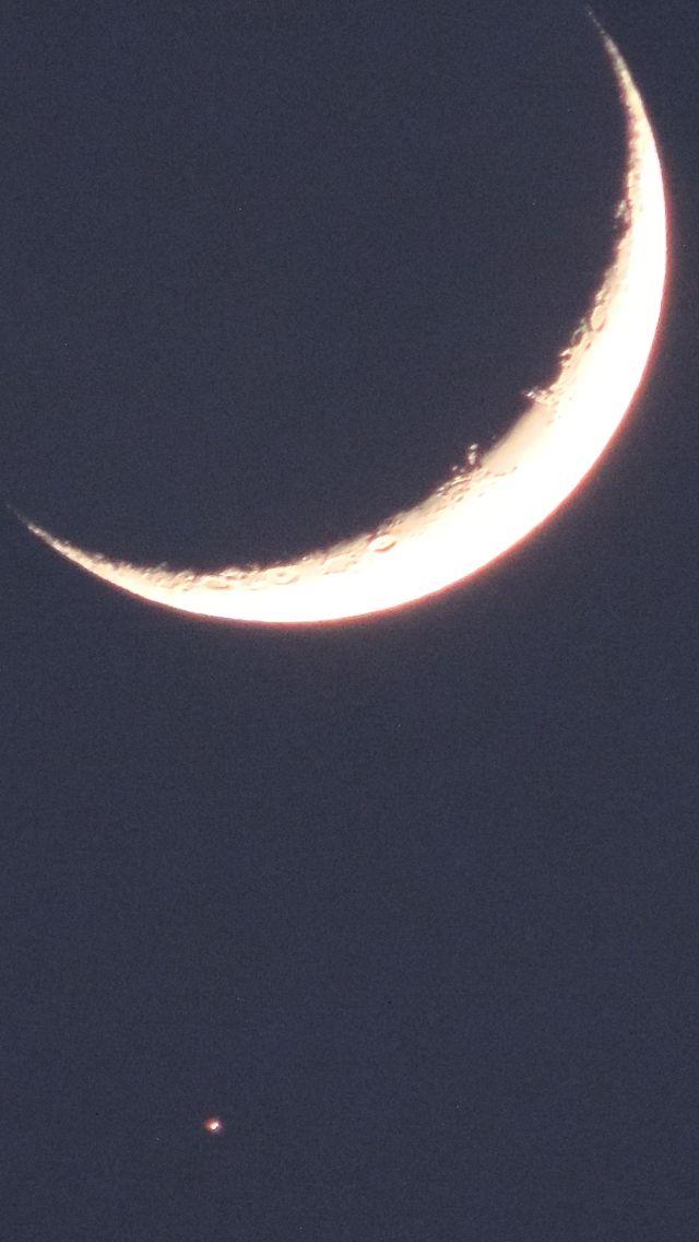 Croissant De Lune Et Son Etoile Art Celestial Outdoor