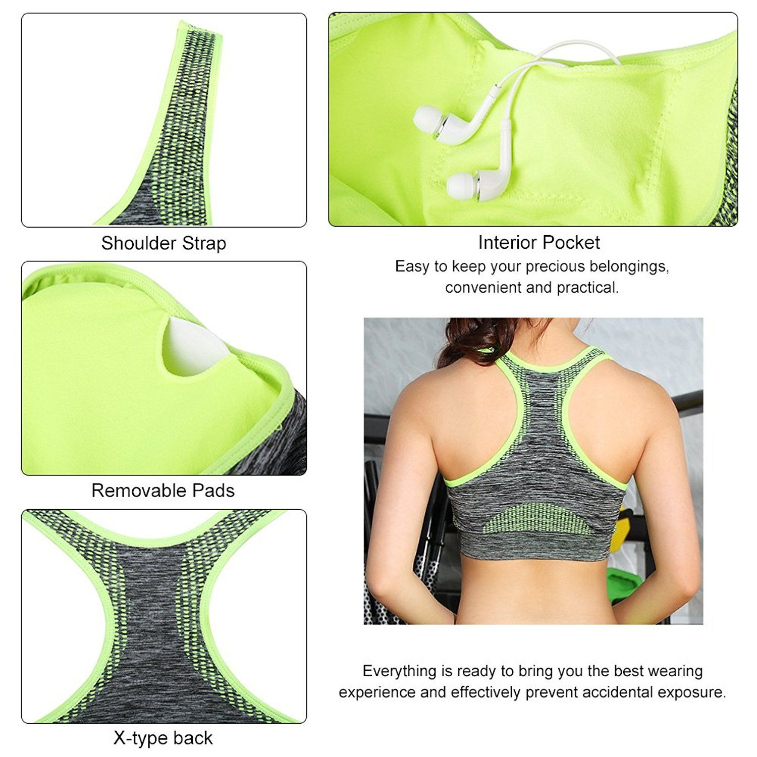 4e3c0a0924d FITIBEST Sport Suits High Impact Sports Bra Yoga Pants Gym Outfits  Breathable Exercise Bra and Leggings for Women -- Check this awesome  product by going to ...