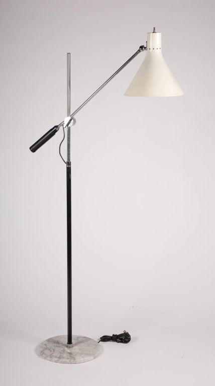 Single boom arm floor lamp by arredoluce floor lamp arredoluce three arm floor lamp single boom arm floor lamp by arredoluce image 2 mozeypictures Images