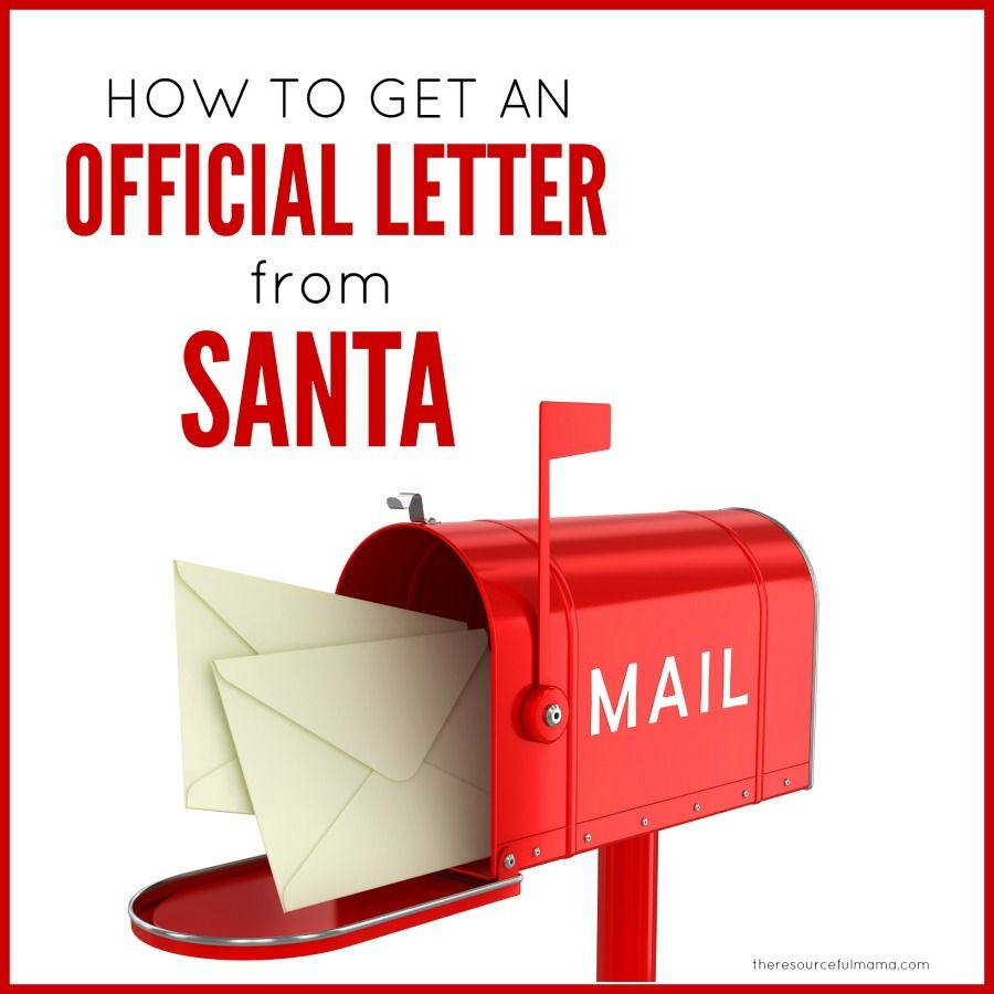 How To Get A Letter Back From Santa  Letter To Santa Letters And