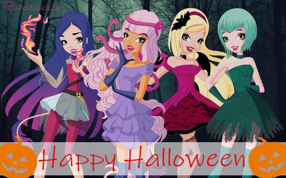 Halloween 2020 Regal Regal Academy Happy Halloween! by Rosesweety on DeviantArt in 2020