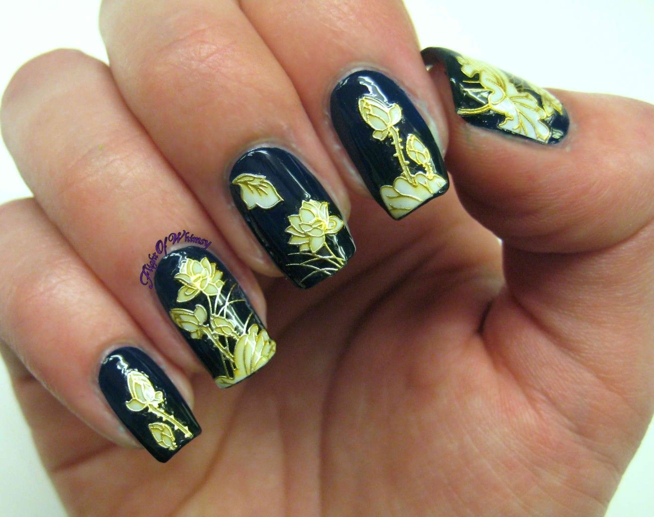 108-classy-nail-design-stickers | Nail Ideas and Tutorials ...