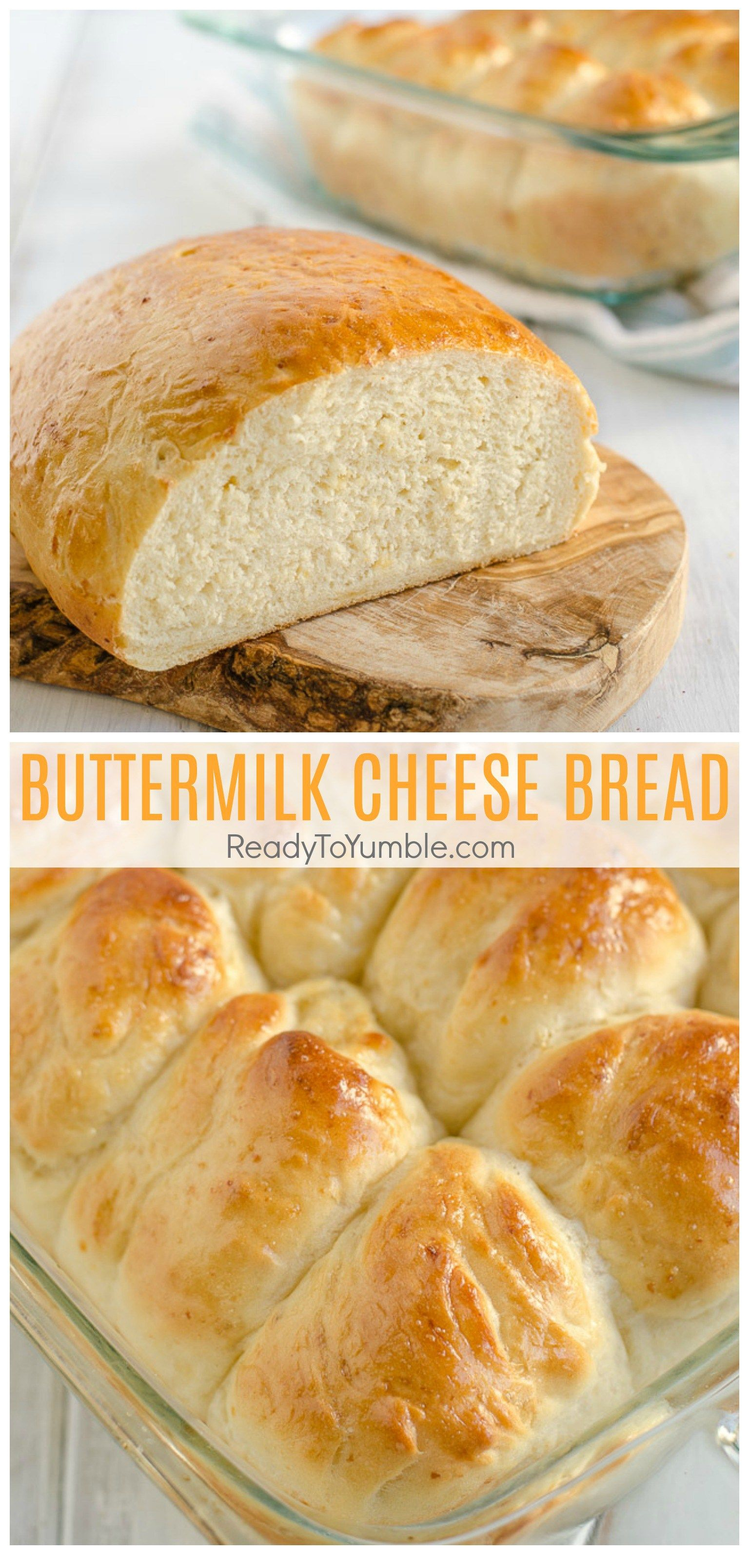 Buttermilk Cheese Bread Ready To Yumble Recipe Cheese Bread Side Dish Recipes Easy Bread