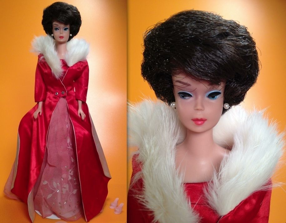Bubblecut Barbie Doll in Magnificence 1646 1965 og Fabulous Fashion 1676 1966