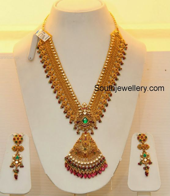 Jewellery Designs Page 568 Of 632 Latest Indian Jewellery Designs 2015 22 Cara Bridal Gold Jewellery Designs Bridal Gold Jewellery Antique Bridal Jewelry